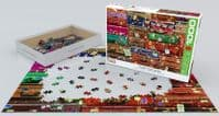 Travel Suitcases - 1000 Pieces |Yorkshire Jigsaw Store